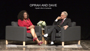 Oprah and Dave