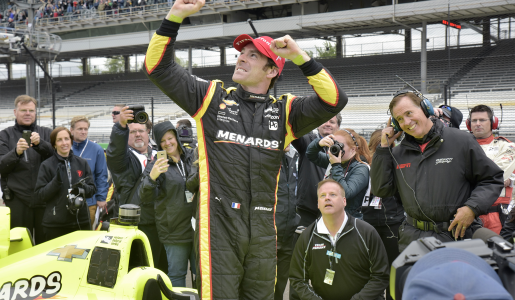 Simon Pagenaud, Winner of Angie's List Grand Prix of Indianapolis