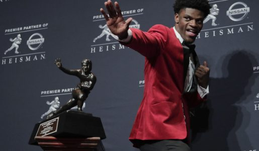 Lamar Jackson, youngest player to win the Heisman Trophy