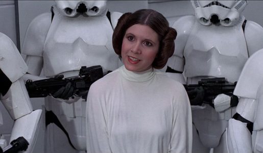 Star Wars'  Princess Leia Passes