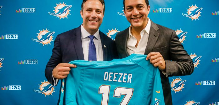 FIRST NORTH AMERICAN AND NFL TEAM PARTNER FOR DEEZER, LAUNCHING OFFICIAL MUSIC CHANNEL