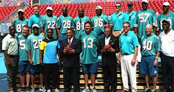Miami Dolphins Host Alumni Weekend